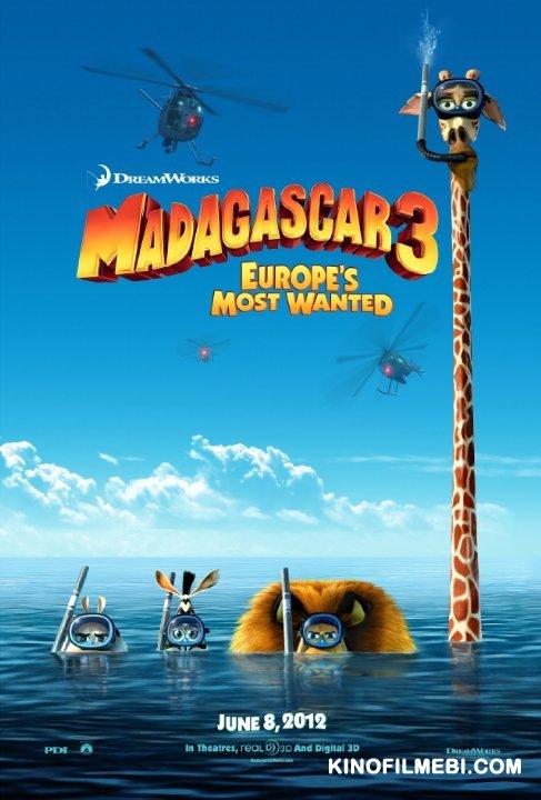 Madagascar 3: Europe's Most Wanted / მადაგასკარი 3